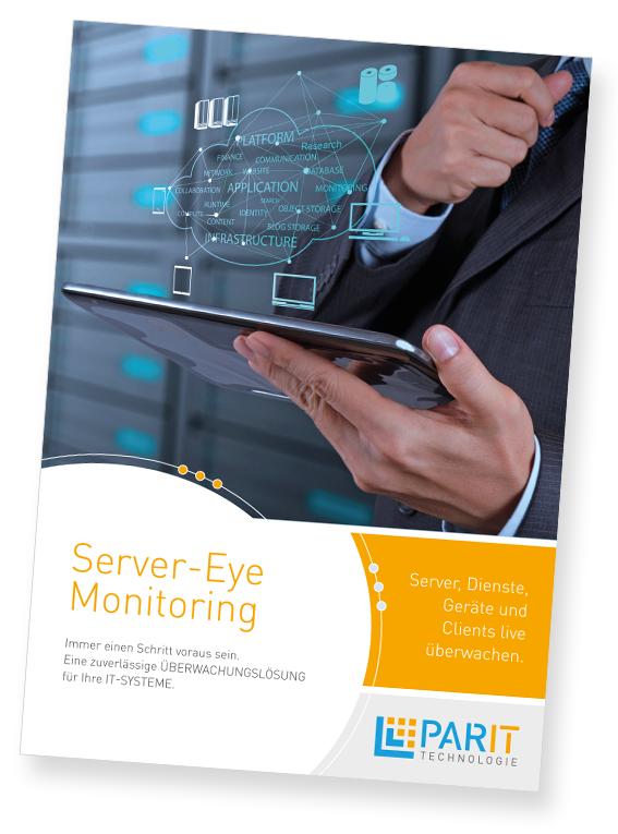 Server-Eye Monitoring Flyer