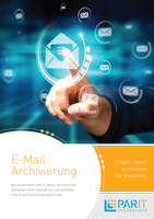 E-Mail Archivierung Flyer
