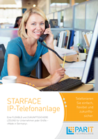 Starface - IP-Telefonanlage Flyer